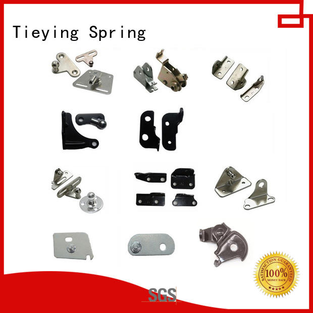 Tieying Spring safety gas strut mounting bracket for automobile vehicles