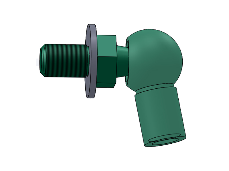 safety gas strut end fittings socket for medical facilities-5