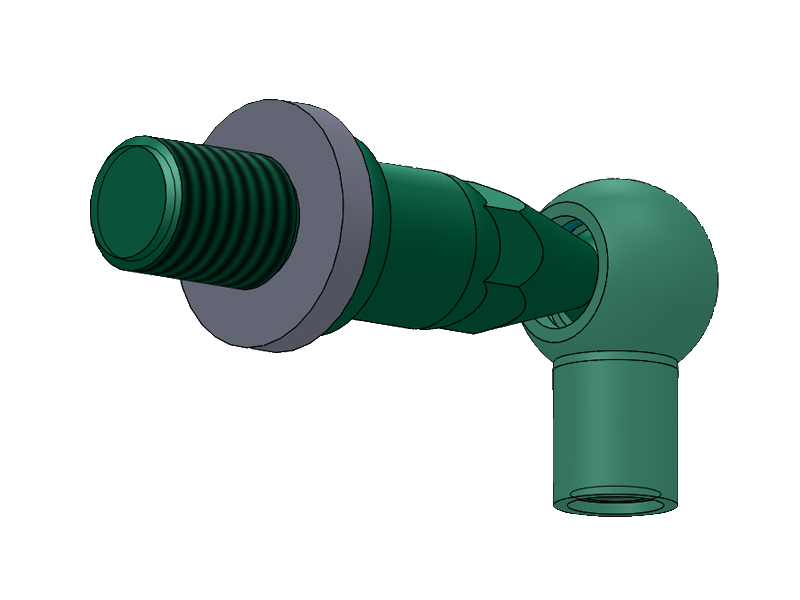 safety gas strut end fittings socket for medical facilities-9