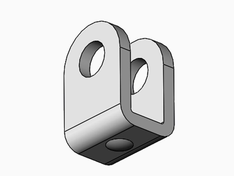 safety gas strut brackets locking bulk production for mechanical equipment-4