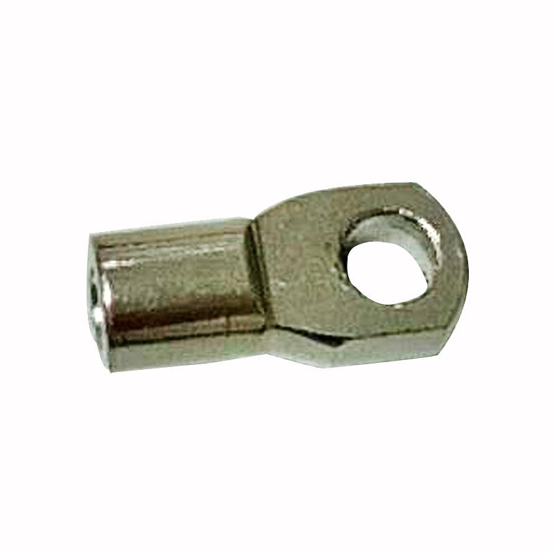 Q type metal eyelets with thread for both rod and tube ends